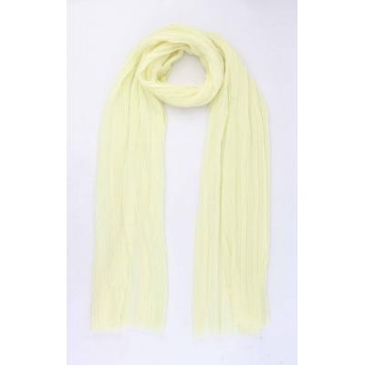 Sjaal 'Kyra' geel