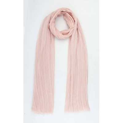 Sjaal 'Kyra' licht roze
