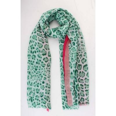 Sjaal 'Stine' Groen