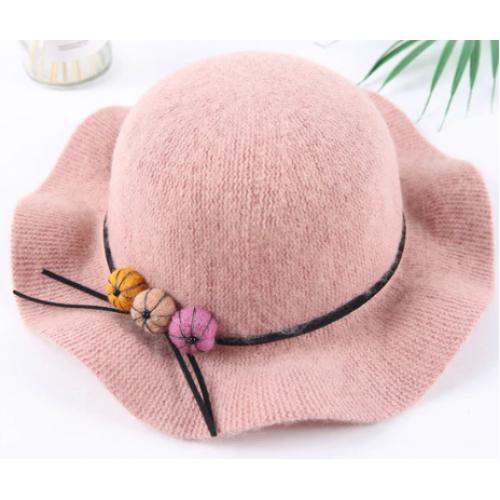 Kinderhoedje - roze