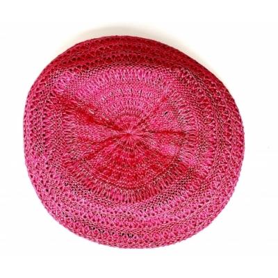Zomer baret - fel roze (alle leeftijden)