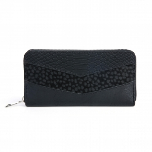 Portemonnee Stip - Zwart