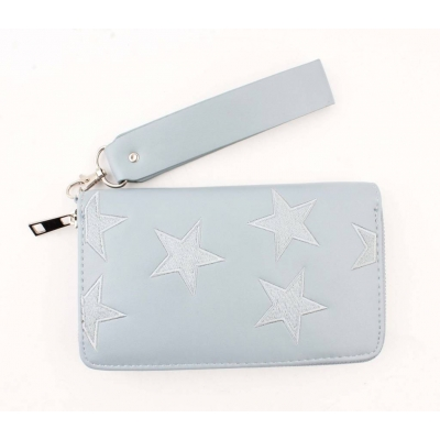 Portemonnee 'sterren' - blauw