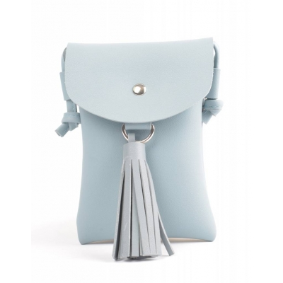 Crossbody Tassel - blauw