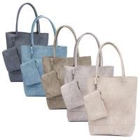 ZEBRA tas - Natural bag kartel LINNEN look (grey, stone, jeansblue, army green)