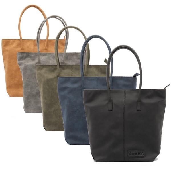 ZEBRA tas - Natural bag kartel MET rits - Fearless (Opnieuw aangevuld!)