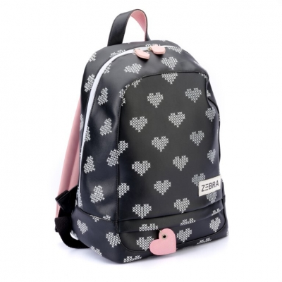 ZEBRA tas - Rugzak (L) Crossed Hearts