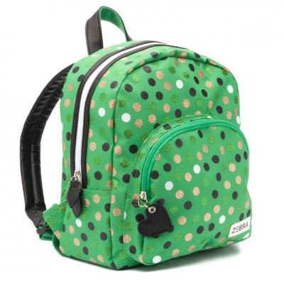 ZEBRA Rugzak Wild Dots - Green
