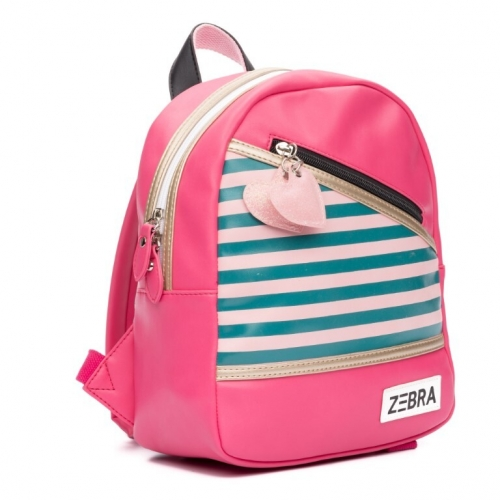 ZEBRA tas (S) Holidays - Pink