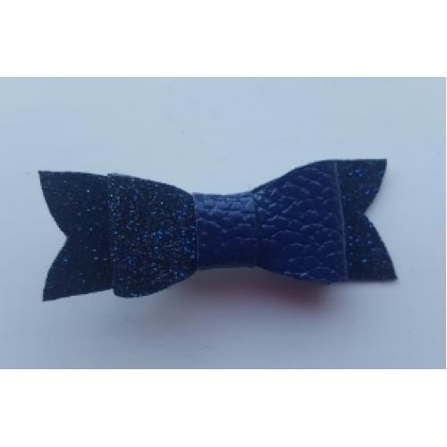 Strik mini Blauw/Glitter