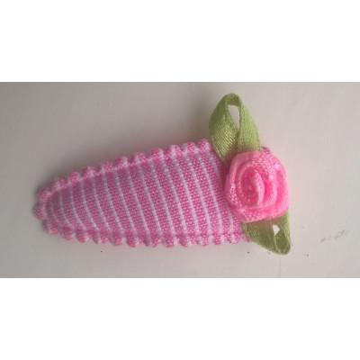Haarspeldje getreept met roosje