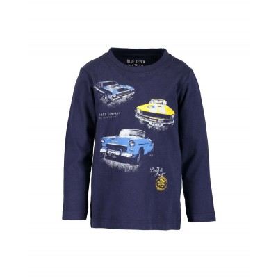Blue Seven long sleeve donkerblauw