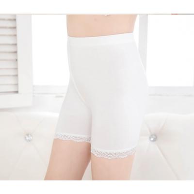 Legging met kant (off-white)
