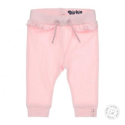 Dirkje bio cotton - joggingbroek roze