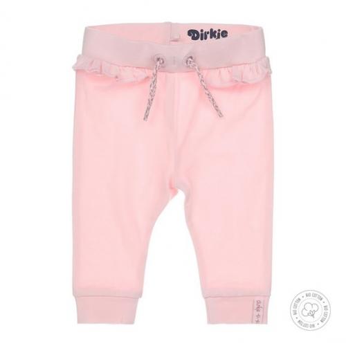 Dirkje bio cotton - joggingbroek roze