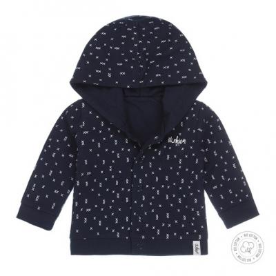 Dirkje bio cotton - Reversible vest (navy)