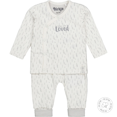 Dirkje bio cotton - Unisex set off-white