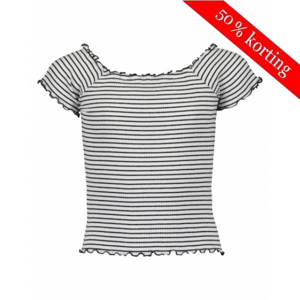 Blue Seven Streep T-shirt