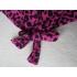 Blouse fuchsia luipaardprint