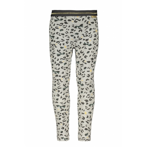 Bampidano - leopard print grijs legging