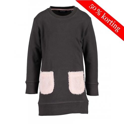 Blue Seven - Sweaterjurk (bruin)