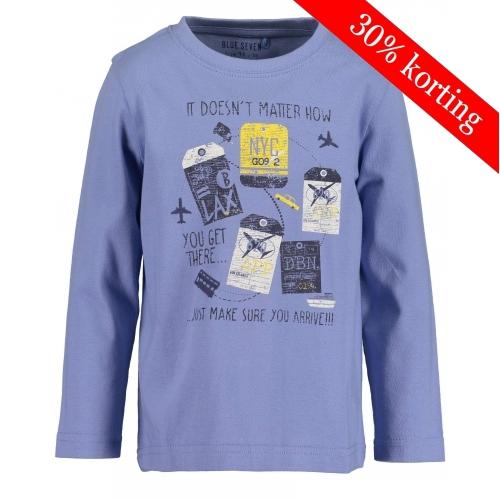 Blue Seven - Longsleeve jongen indigo