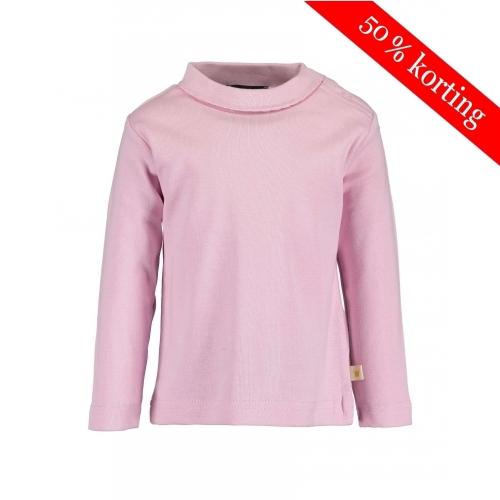 Blue Seven - t-shirt met kraagje (roze)