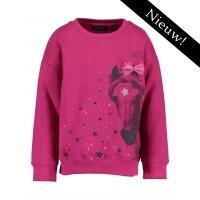 Blue Seven - Sweater paard (roze)