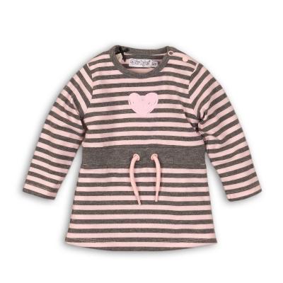 Dirkje - jurk streep roze