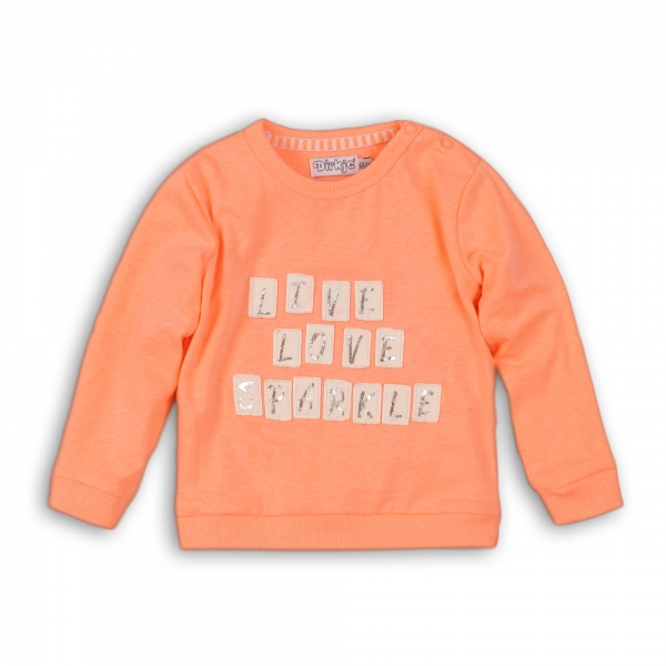 Dirkje - sweater live, love, sparkle