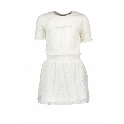 Moodstreet combi jurk met tule rokje