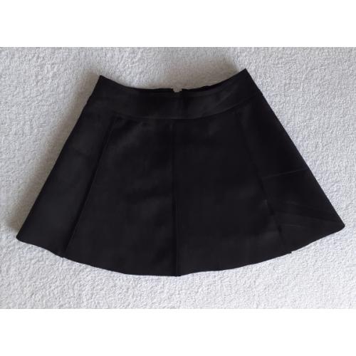 Zero Suedine rok - zwart