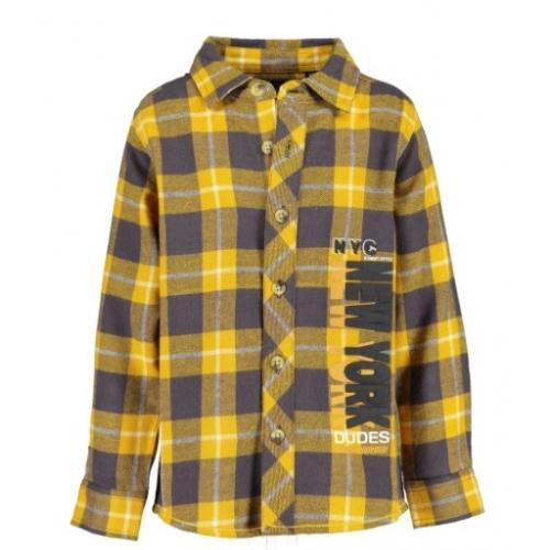 Blue Seven -  Geblokte blouse