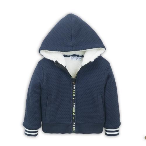Dirkje – Navy jas met teddy voering