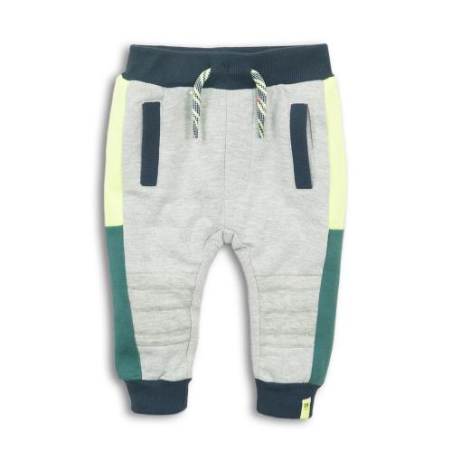 Dirkje - Joggingbroek grijs/groen/geel