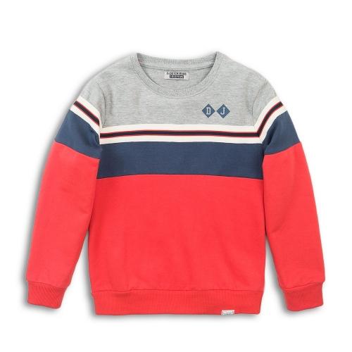 DJ Dutch Jeans - Sweater rood/blauw/grijs