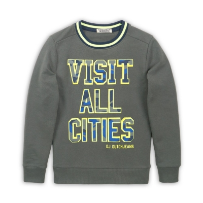 DJ Dutch Jeans - Sweater 'Visit all cities'