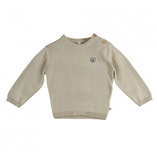 Ducky Beau - Sweater Oatmeal melange