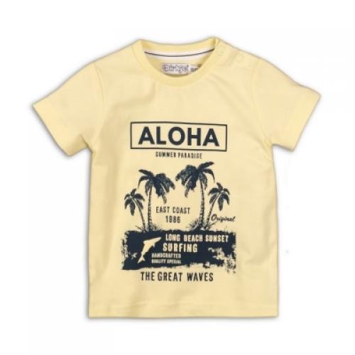Dirkje - T-shirt Aloha (licht-geel)