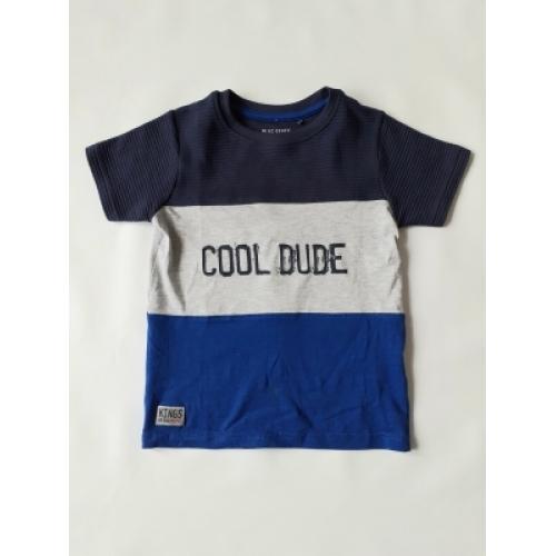 Blue Seven - T-shirt Cool Dude (blauw)