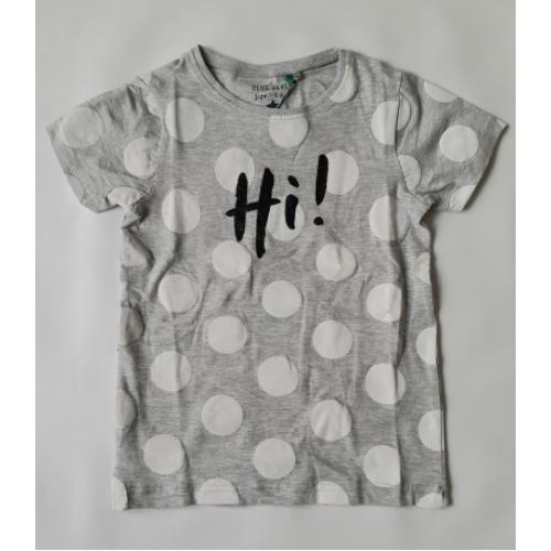 Blue Seven - T-shirt Hi! (grijs)