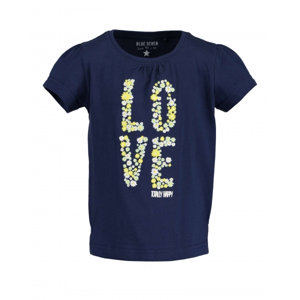 Blue Seven - T-shirt love (navy)