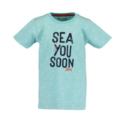 Blue Seven - T-shirt Sea you soon