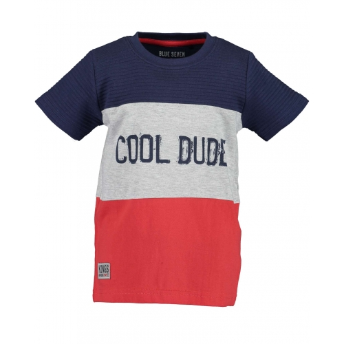 Blue Seven - T-shirt Cool Dude (rood)