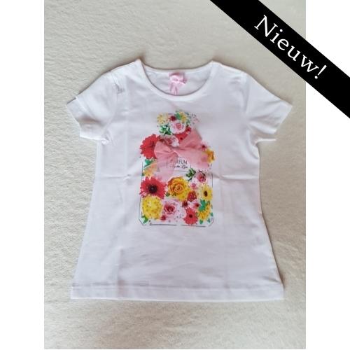 Zero - t-shirt met bloemen roze