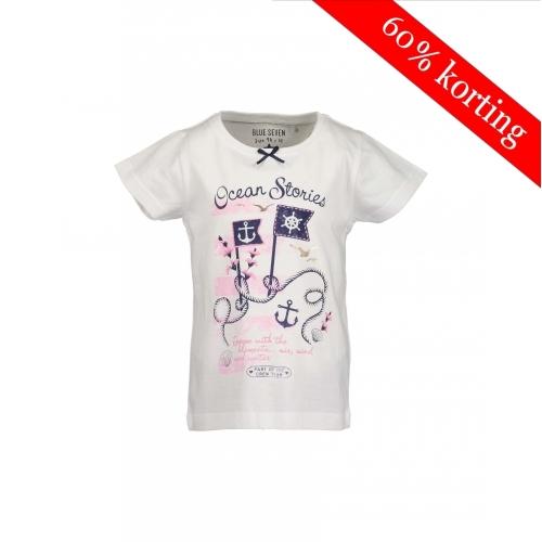 Blue Seven meisjes T-shirt wit
