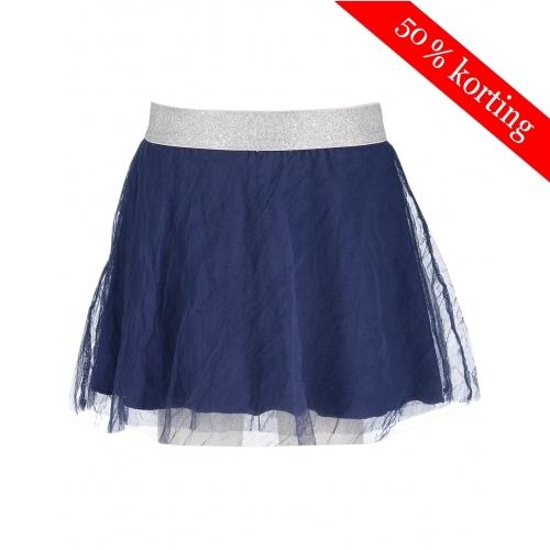 Blue Seven tule rok (blauw)