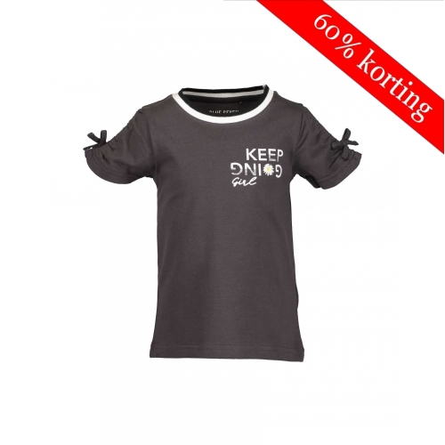 Blue Seven meisjes T-shirt bruin