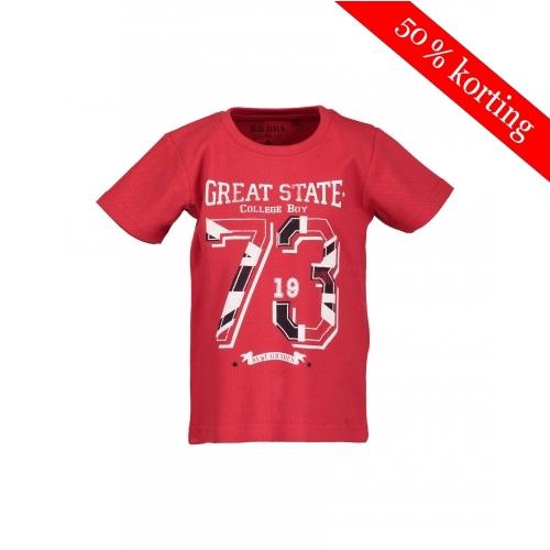 Blue Seven T-shirt rood 73