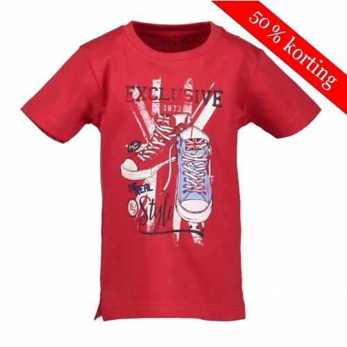 Blue Seven T-shirt rood gympen